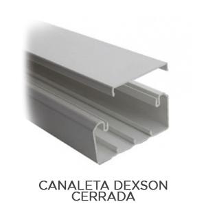 CANALETA DEXSON CERRADA