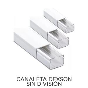 CANALETA DEXSON SIN DIVISIÓN