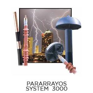 Pararrayos System 3000
